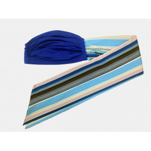 Turbante PRETTY BLUE